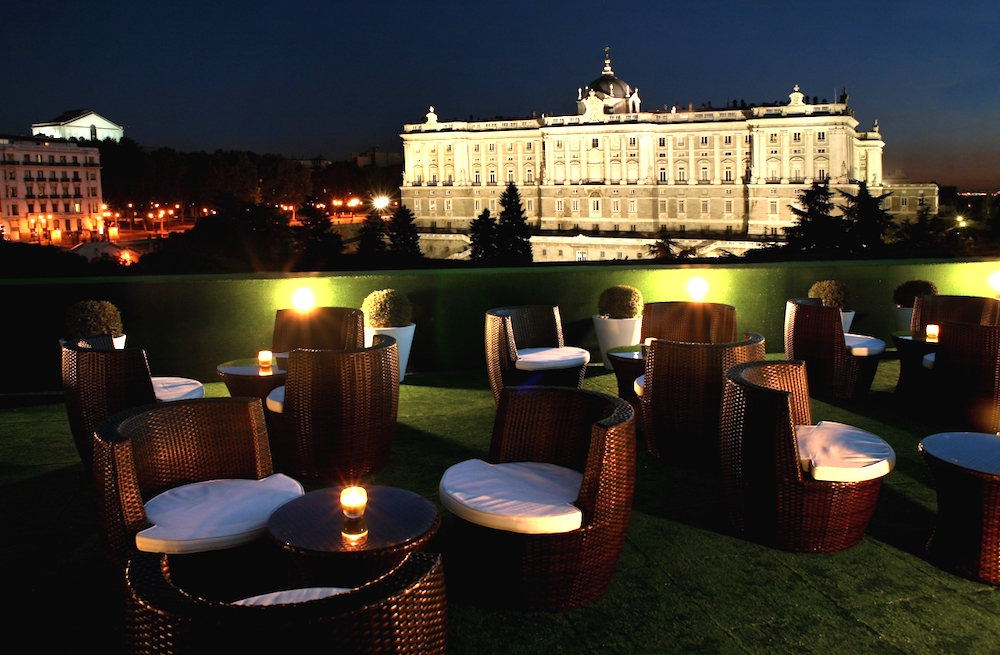Time for terraces golf in madrid for Hotel jardines sabatini