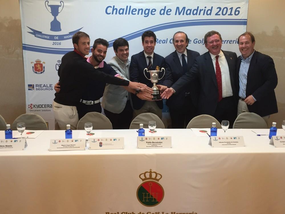 challenge tour golf
